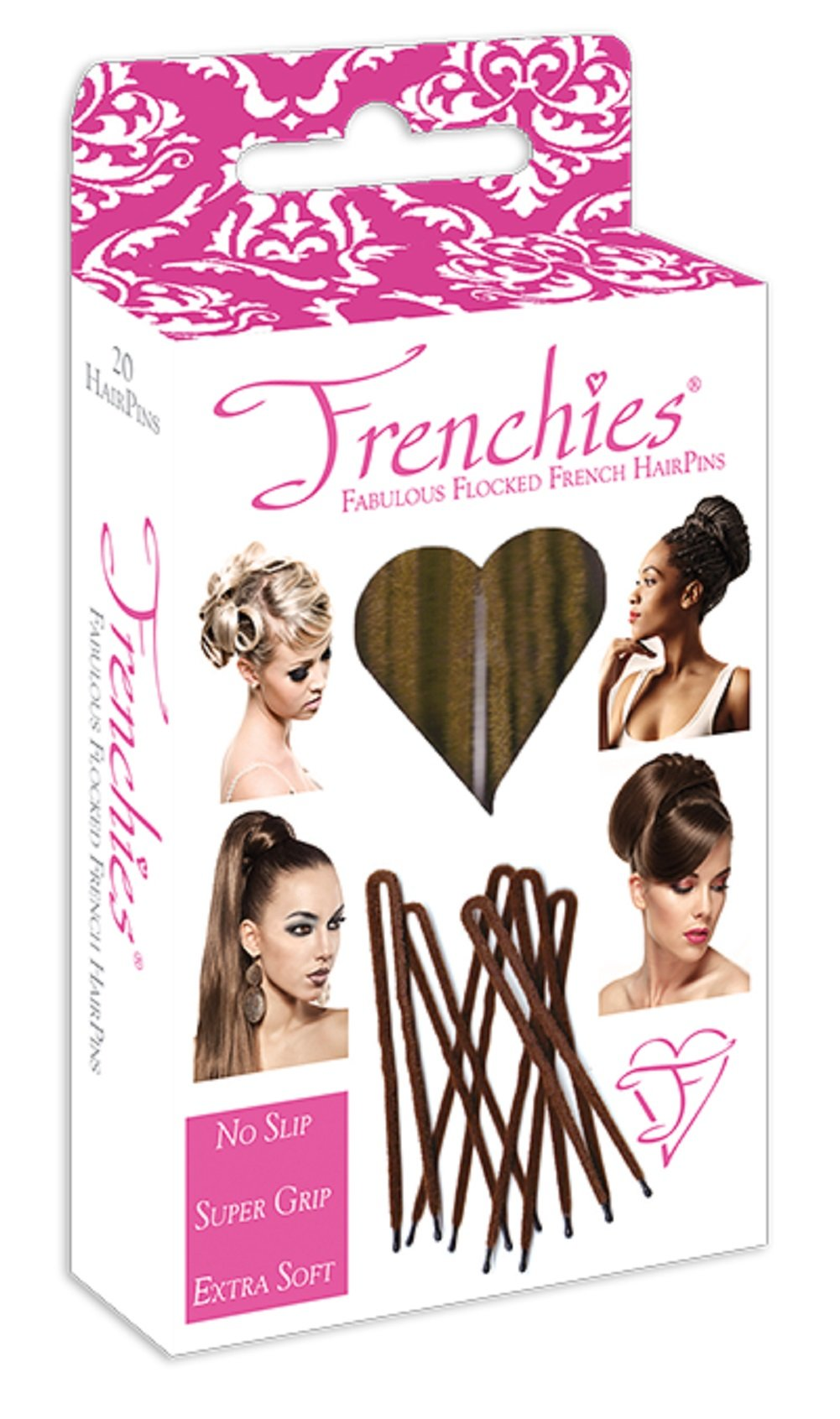 Amazon Frenchies Ultra Flocked Extra Soft French Twist Hair