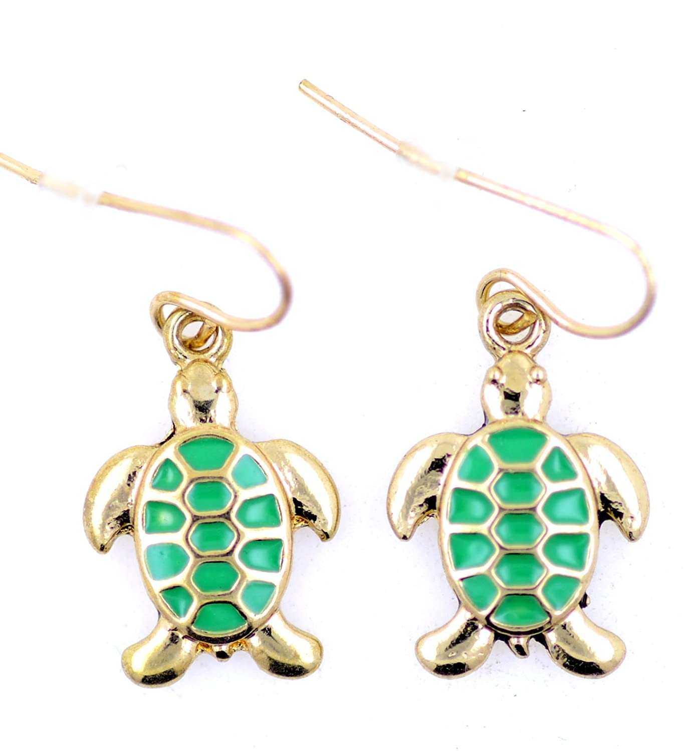 tortoise cynthia gold m products earrings