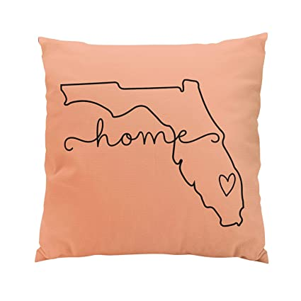Amazon.com: Sokiiy Florida Home State Love Movable Location Heart ...
