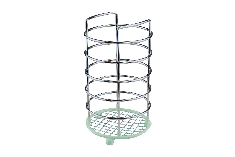 Apollo Chrome Wire Ware Dip portautensili, Verde Menta 3652