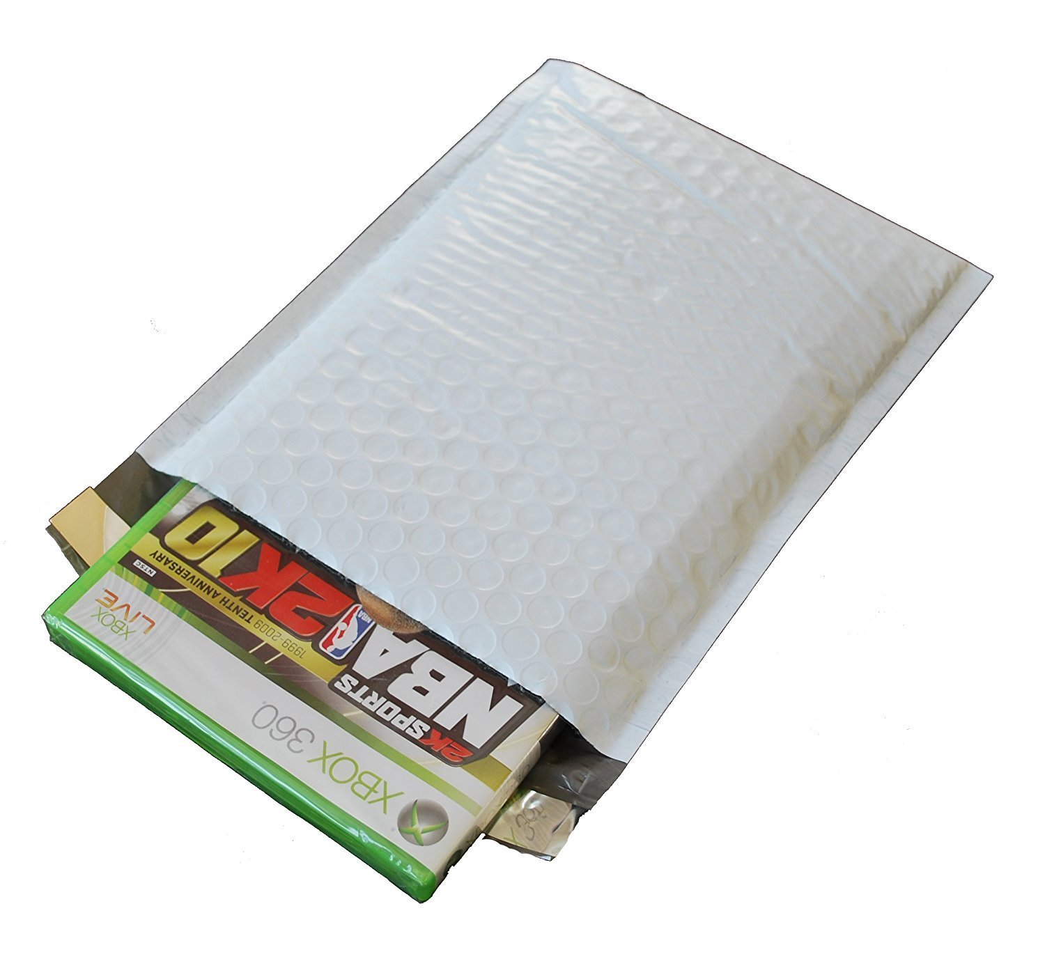 200 Poly Bubble Mailers, 2 8.5'' X 12'' Poly Bubble Mailers Padded Envelopes, 200 Ct by ValueMailers