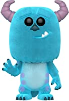 Funko Figure Pop Disney Monsters Inc-Flocked Sulley, Multicolor