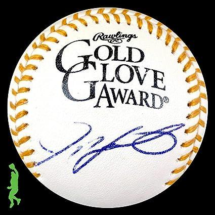 Ivan Rodriguez Autographed Signed Mlb Gold Glove Award Baseball Ball Jsa Coa Wholesale Lots Sports Mem, Cards & Fan Shop