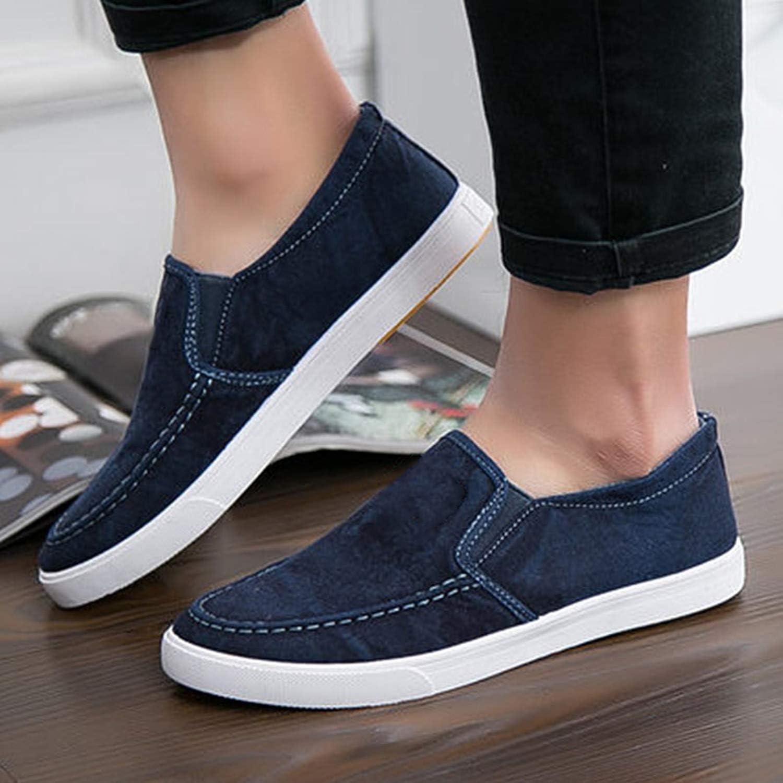 Men Canvas Flats Shoes Fashion