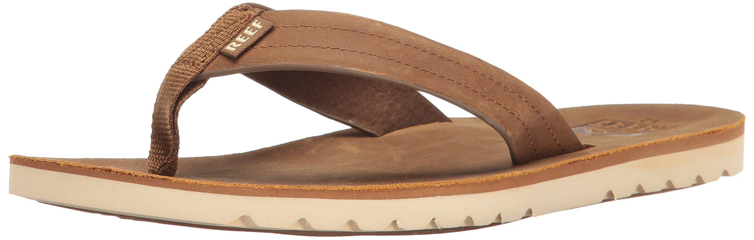 Reef Men's Voyage Le Sandal, Bronze/Brown, 11 M US
