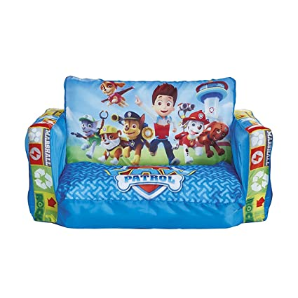 Bon Paw Patrol Cozy Little Flip Out Sofa For Kids