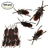 Fake Cockroaches Realistic Prank Roaches for Joke