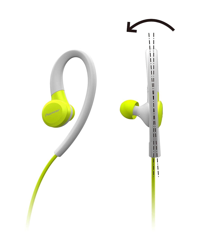 Pioneer SE-E6BT(Y) Auriculares deportivos inalámbricos in-ear (6 ...