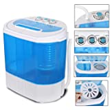 HomGarden 10lbs Portable Washing Machine with