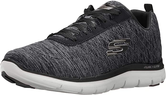 Skechers Flex Appeal 2.0 Sneakers Damen Schwarz/Gold