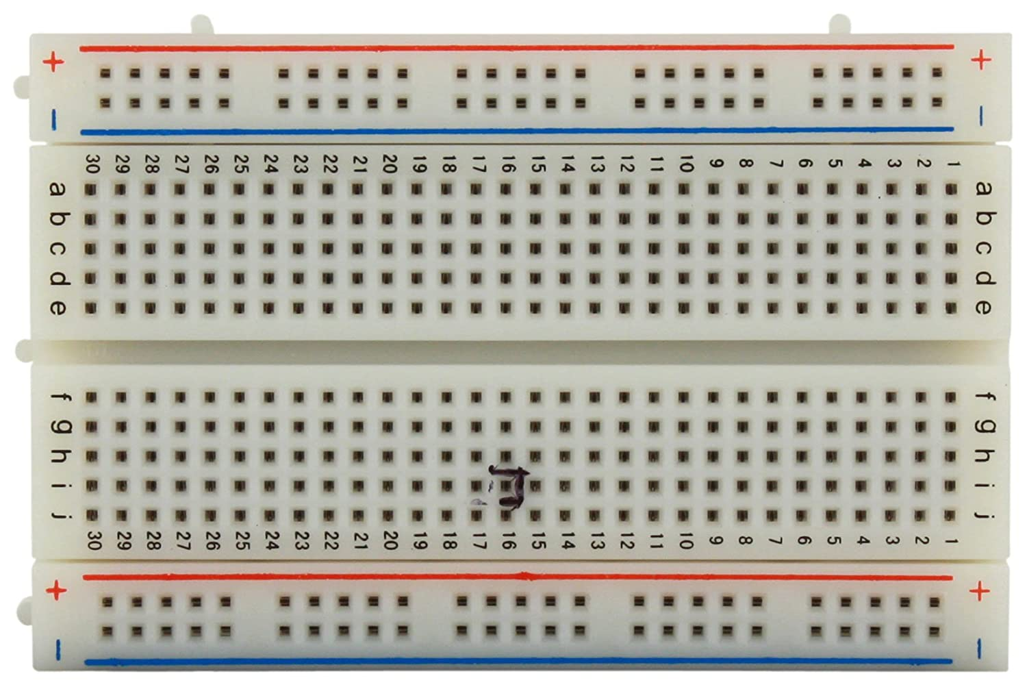 Discount Global Specialties GS-400 Solderless Breadboard with Bus Strip, 400 Tie-Point, 3-19/64 Length x 1-25/64 Width Strip for sale