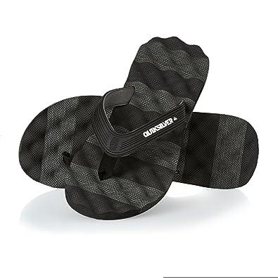 0088609a63ea Quiksilver Massage - Flip-Flops - Flip-Flops - Men - EU 41 - Black  Amazon. co.uk  Shoes   Bags