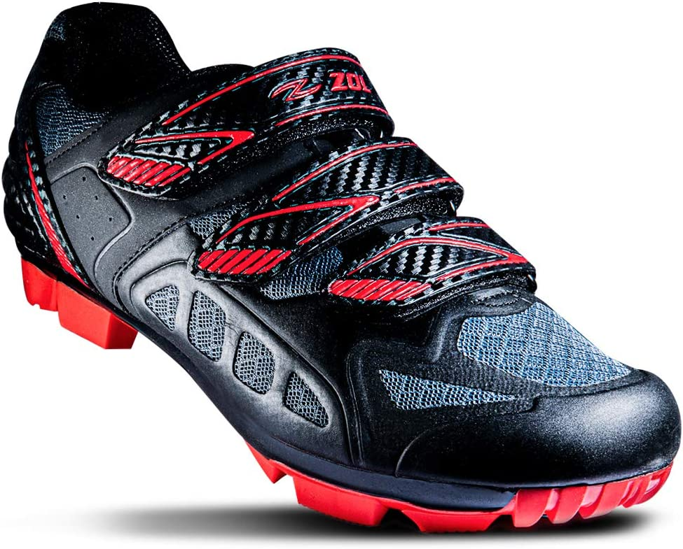 ZOL Predator MTB Mountain Bike and Indoor Cycling Shoes: Sports & Outdoors