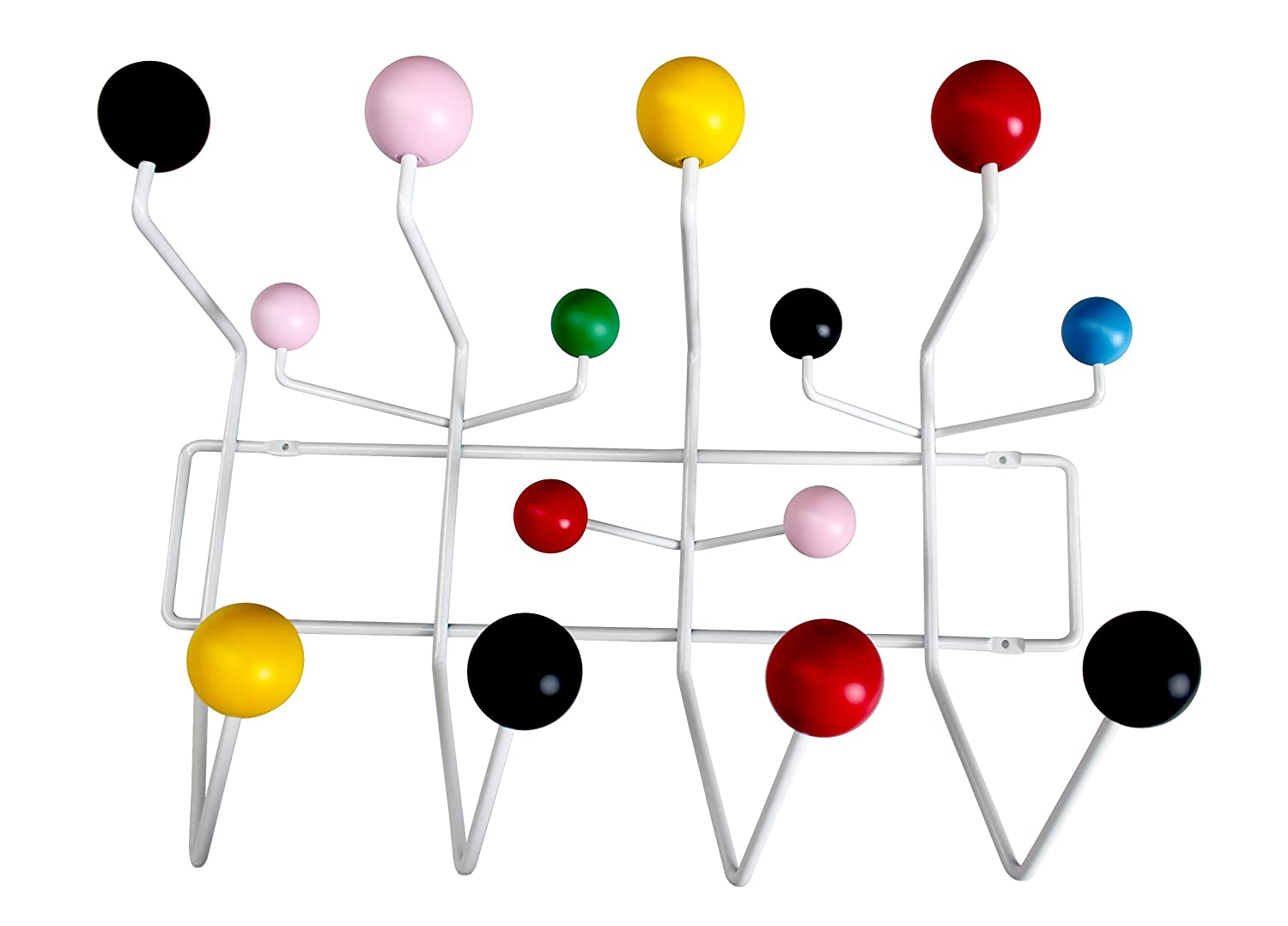 MLF® Eames Hang It All, perchero de pared con bolas de ...