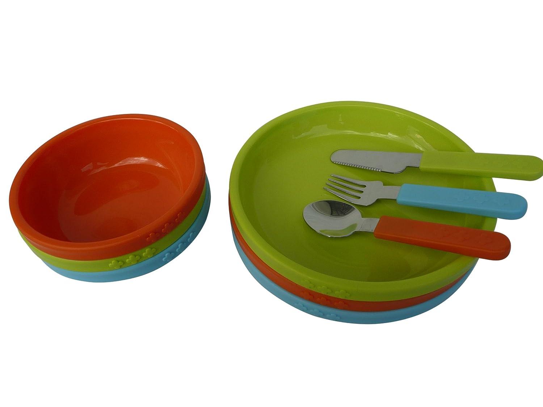 IKEA Kalas Kinderbesteck versch Pack Besteck BPA frei Geschirr Farben 18-tlg