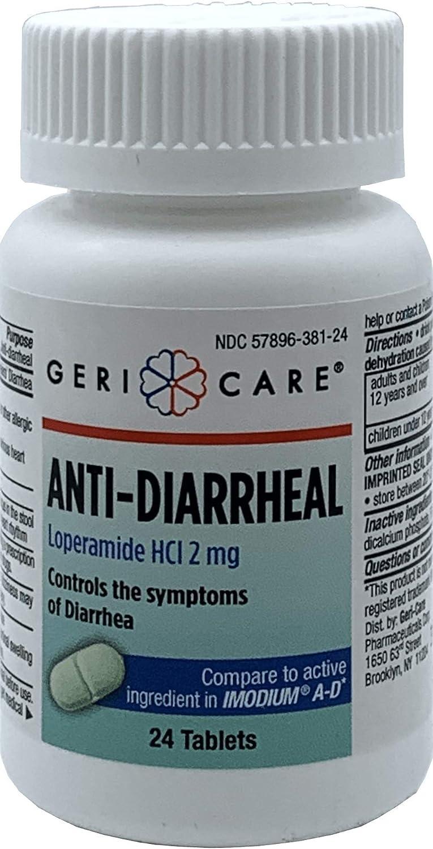 Gericare Anti-diarrheal Caplet 24 Per Bottle: Health & Personal Care