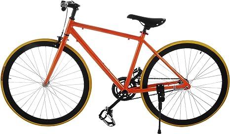Happybuy - Bicicleta de viaje de 66 / 68 cm, freno delantero PRO ...