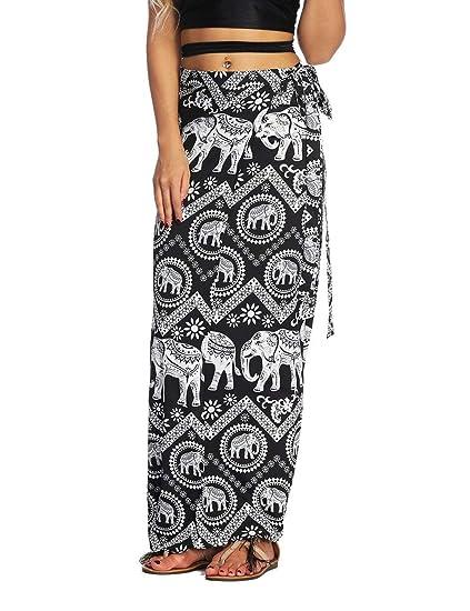 Faldas Mujer Casual Moda De Verano Falda Mujer Playa Mode De Marca ...