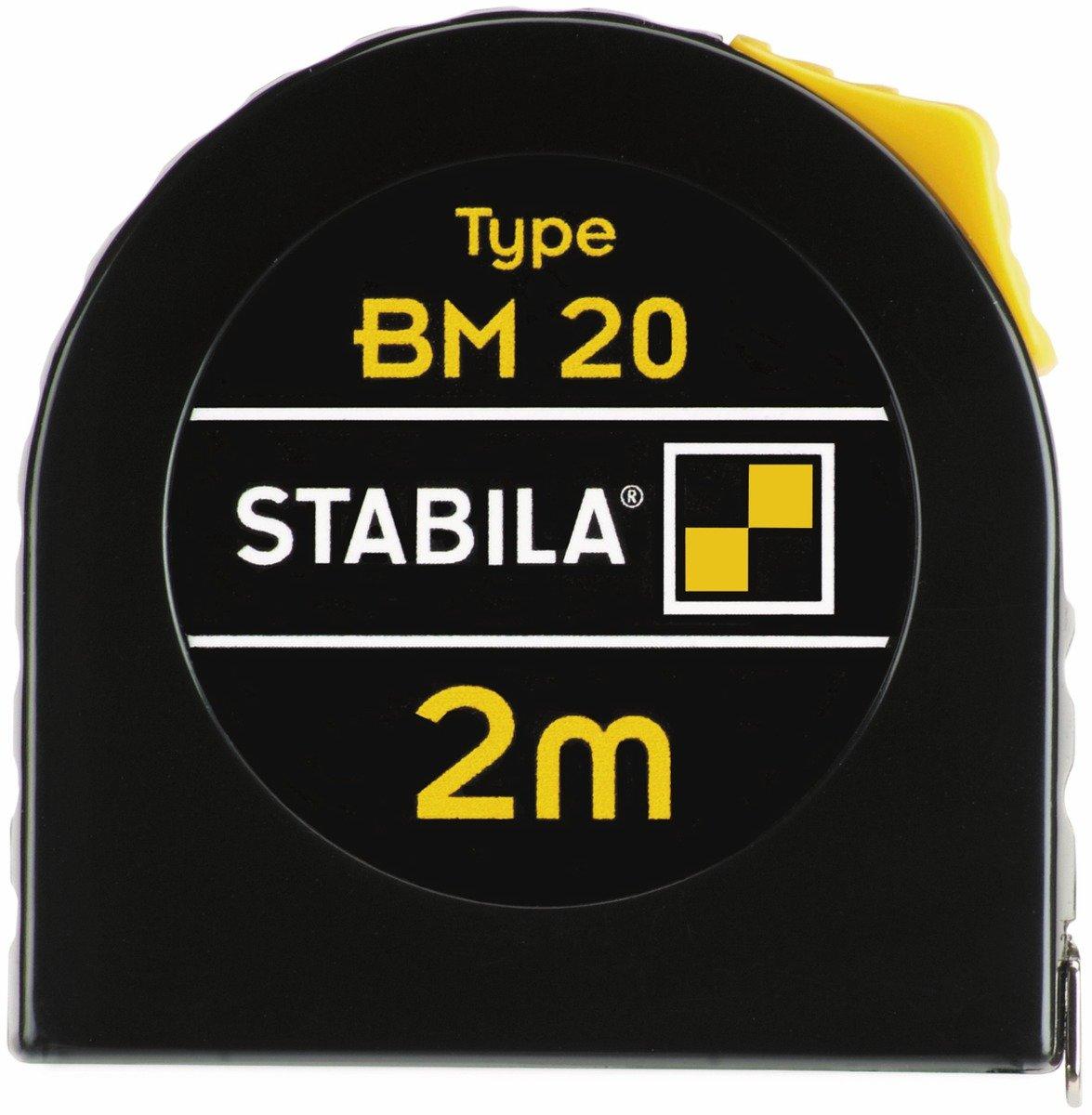 5 m STABILA Taschenbandma/ß BM 20