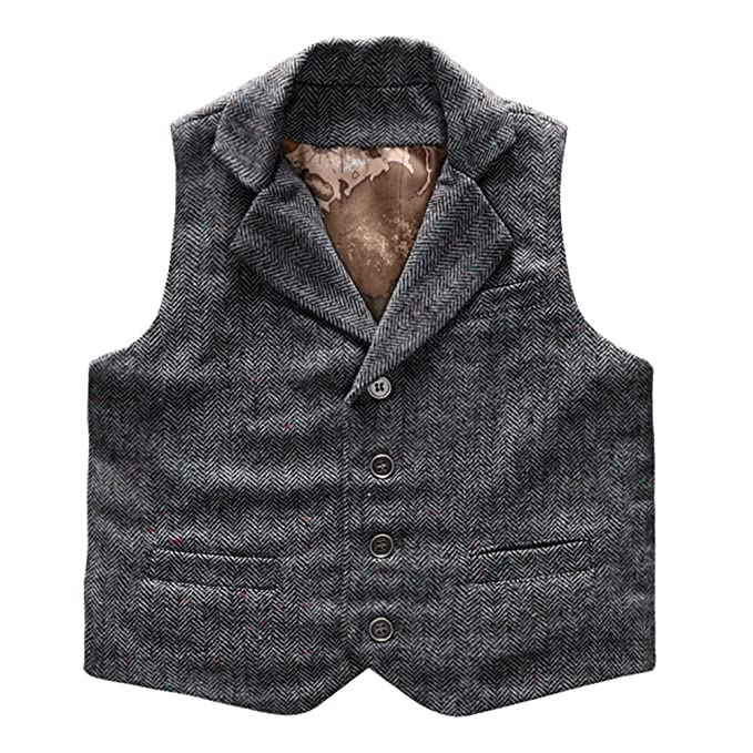 Steampunk Kids Costumes | Girl, Boy, Baby, Toddler Coodebear Boys Girls Map Lined Pockets Buttons V Collar Vests (2-16 Years) $18.48 AT vintagedancer.com