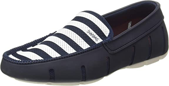 TALLA 39.5 EU. SWIMS Braided Lace Loafer, Mocasines Hombre