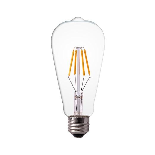 5 opinioni per Lampadina LED Edison Splink Build dell'annata del filamento, 4= 40W, sostituire