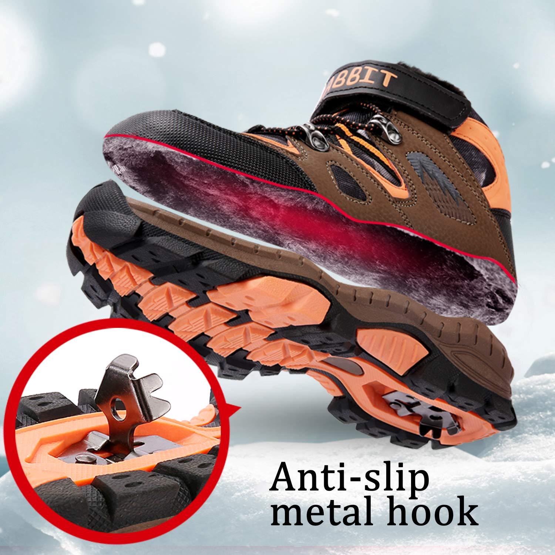 Botas de Monta/ña Ni/ños Zapatos Nieve Invierno Botas de Senderismo Zapatillas Altas