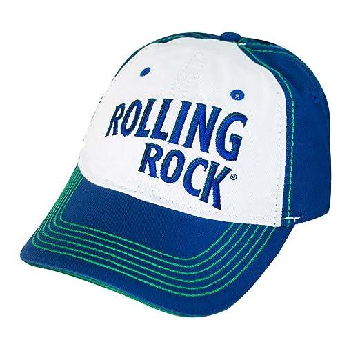 da777c995 Rolling Rock Blue/Green Baseball Snapback Cap