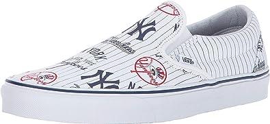 57ea5fcfe307 Amazon.com  Vans Unisex Classic Slip-On x MLB Collaboration  Vans  Shoes