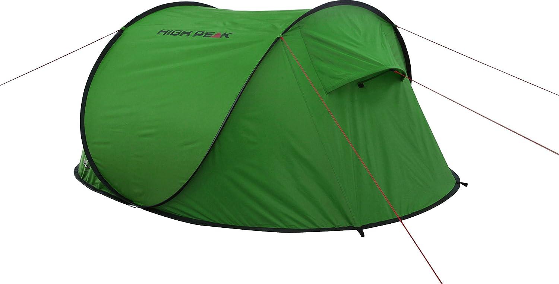 b9b6c073674 High Peak Zelt Vision 3 grün/Phantom: Amazon.de: Sport & Freizeit
