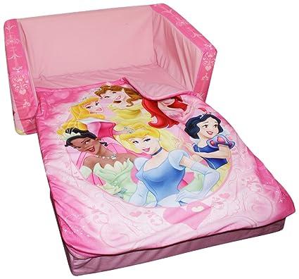 amazon com marshmallow fun furniture flip open sofa with slumber rh amazon com disney princess flip open sofa bed