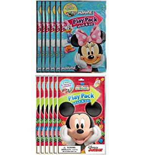Amazon.com: Disney Minnie Mouse Birthday Party Favours Set ...