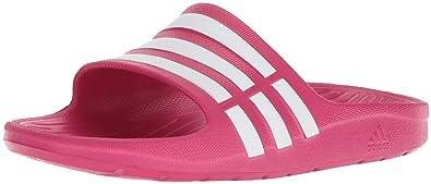 cebd691a43d45 adidas Children s Duramo Slide Sandals  Amazon.co.uk  Shoes   Bags
