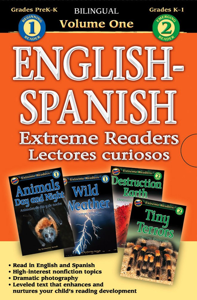 Extreme Readers English-Spanish 4-in-1, Level 1-2 (English and Spanish Edition) by Brighter Child
