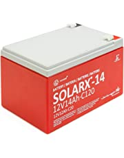 Xunzel Deep Cycle batería solar 12V, 1pieza, solarx de 14