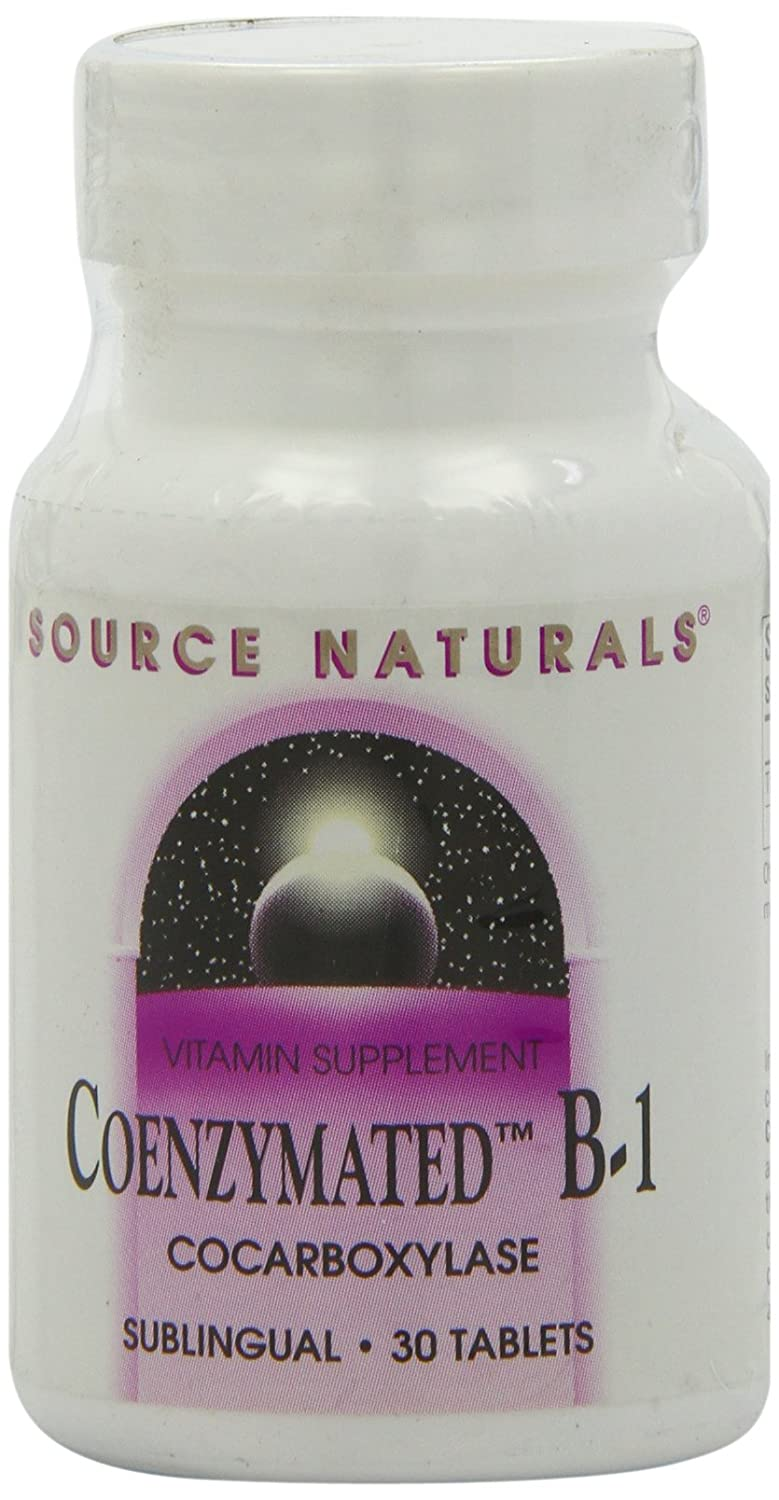 Source Naturals Coenzymated B-1 25 Mg, 30 Count