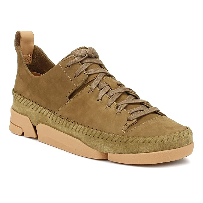Amazon.com | CLARKS Womens Olive Trigenic Flex Sneakers-UK 3 | Fashion Sneakers