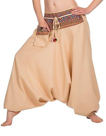 Zarlena Pumphose Haremshose Aladin Pants Yoga Hose  Amazon.de  Bekleidung 1f2255dff9
