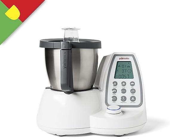 yämmi Robot de cocina multifunción, Capacidad de 2.5L, 11 funciones, 9 accesorios, incluye Potencia 1500 W, motor 500 W, libro de recetas en Portugal: Amazon.es: Hogar