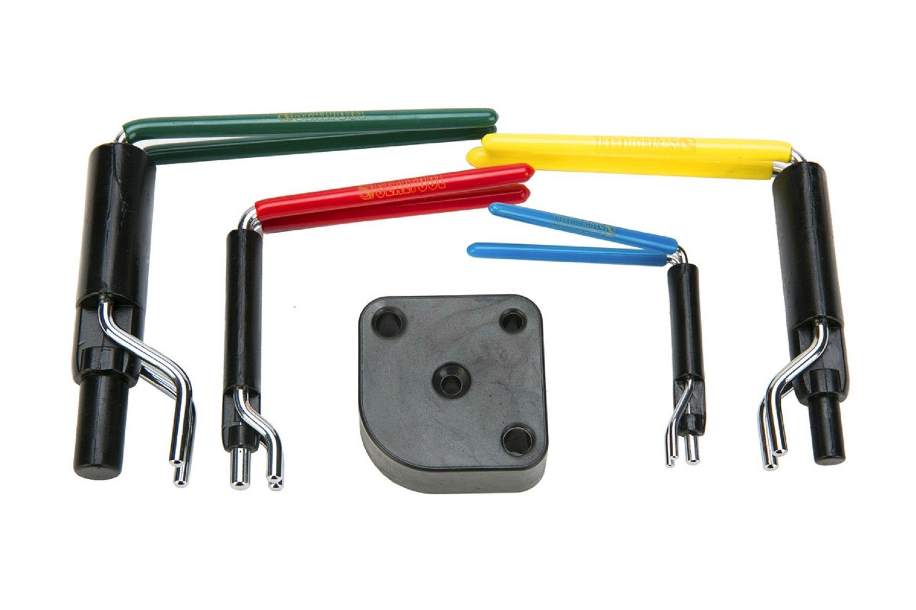 8milelake Hydraulic Cylinder Piston Rod Seal U-cup Installation Tool kit by 8MILELAKE (Image #3)