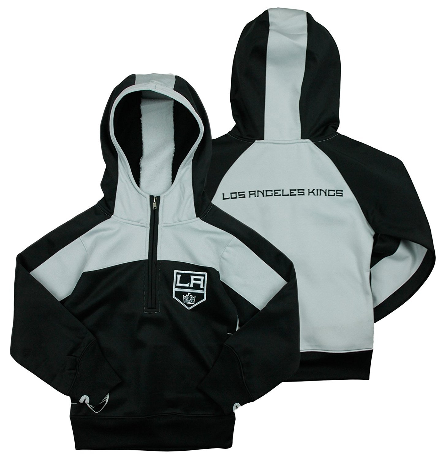 L XL OR 2XL NEW! LOS ANGELES KINGS NHL MEN/'S PULLOVER WARM UP JACKET S