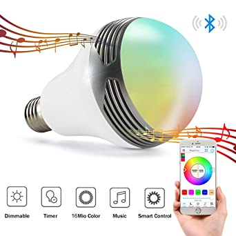 MagicHue Neu Farbige Leuchtmittel Sunset Smart LED Bluetooth Lampe ...