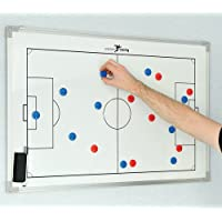 Precision Training Football Pro Double-Sided Tactic Board 45 x 30cm rrp£34