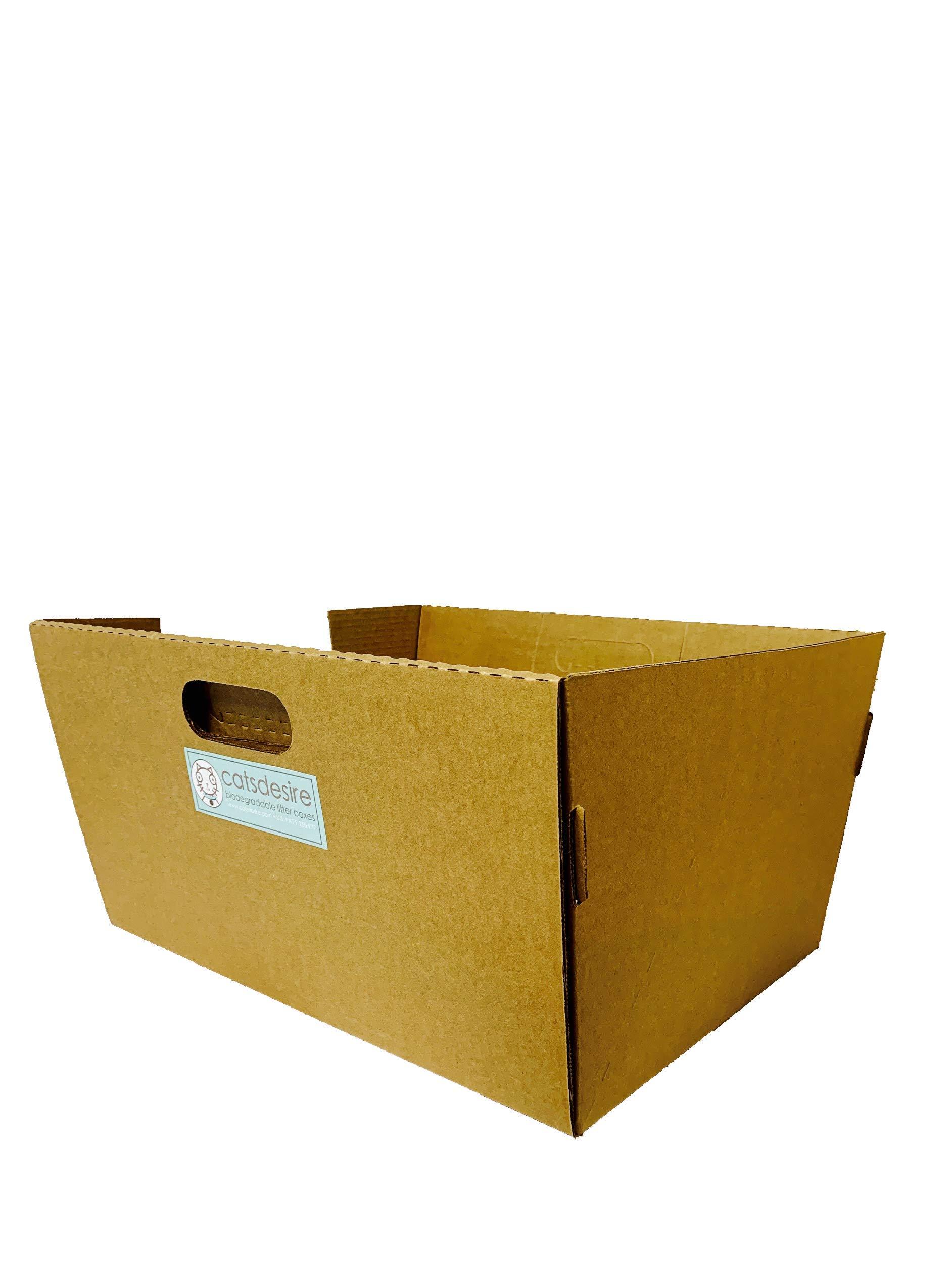 Cats Desire Disposable Litter Boxes Disposable Litter Boxes, 10 Piece 4