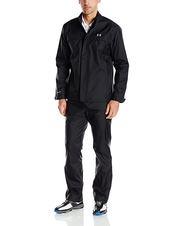 Under Armour Mens Armourstorm Jacket Black Steel SM 1248114-001