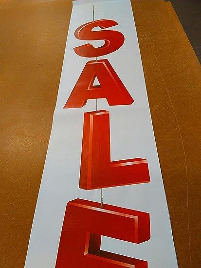 Sale sign Banner impreso Full Color vinilo carteles tienda ...