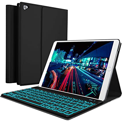 Amazon.com  iPad Keyboard Case for New 2018 iPad 7330de6556