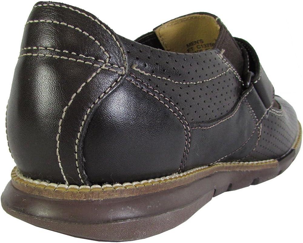 Cole Haan Men Grandsprint Strap II Perf Leather Casual Shoe