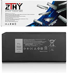 ZTHY 97Wh X8VWF Battery Replacement for Dell Latitude 14 Rugged 5404 5414 E5404 Extreme 7404 7414 E7404 Series Laptop CJ2K1 VCWGN 0VCWGN YGV51 DKNKD XN4KN XRJDF 0W11V7 453-BBBE 11.1V 8700mAh 9Cell