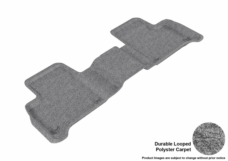 Black 3D MAXpider Complete Set Custom Fit Floor Mat for Select Mercedes-Benz GLE-Class//ML-Class Models Classic Carpet